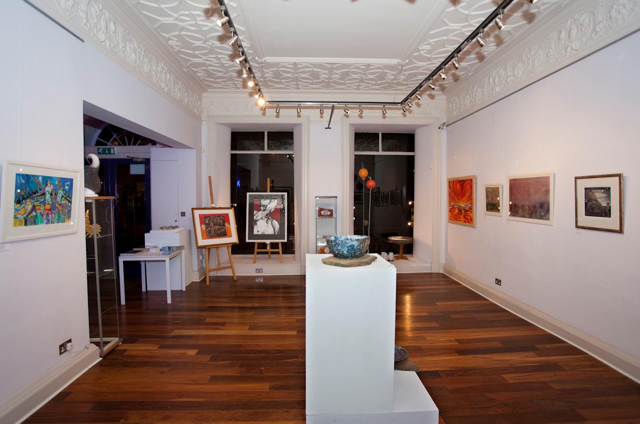 Photo: Katnes Folio At Axolotl Gallery In Edinburgh