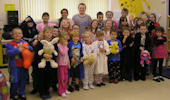Thrumster Primary Raised over £400 for Children In Need