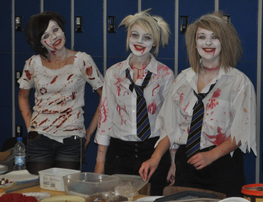 Photo: Baking At At Wick High For Children In Need