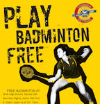 Play badminton FREE in Wick if your aged 10 to 19