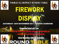 Thurso Fireworks November 2011