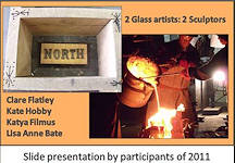 2 Glass Artiists 2 Sculptors