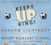 Keepy Up King at Mount Pleasant, Thurso