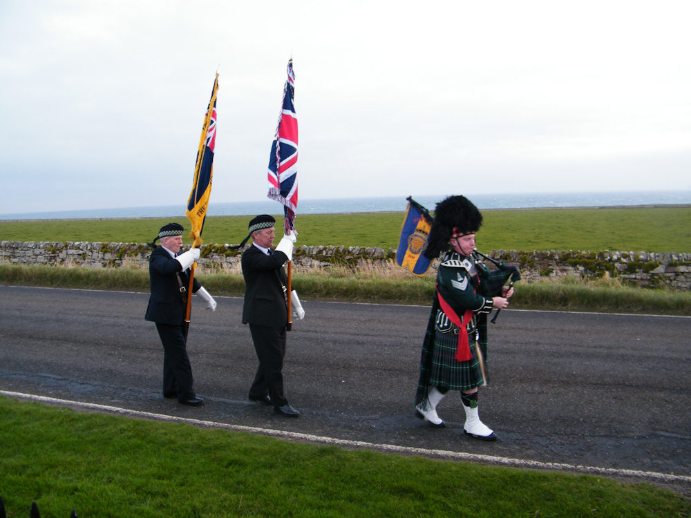 Photo: Remembrance At Keiss