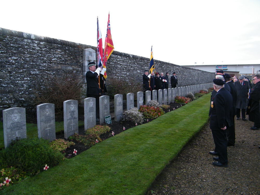 Photo: Remembrance At Wick Cemetery
