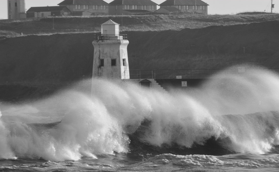 Photo: Stormy Weather At Wick Harbour