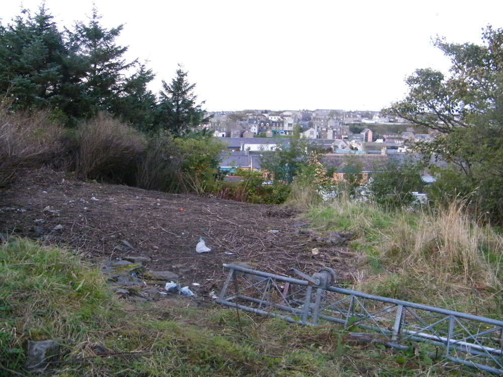 Photo: Ground At The Rear Of Assembly Rooms