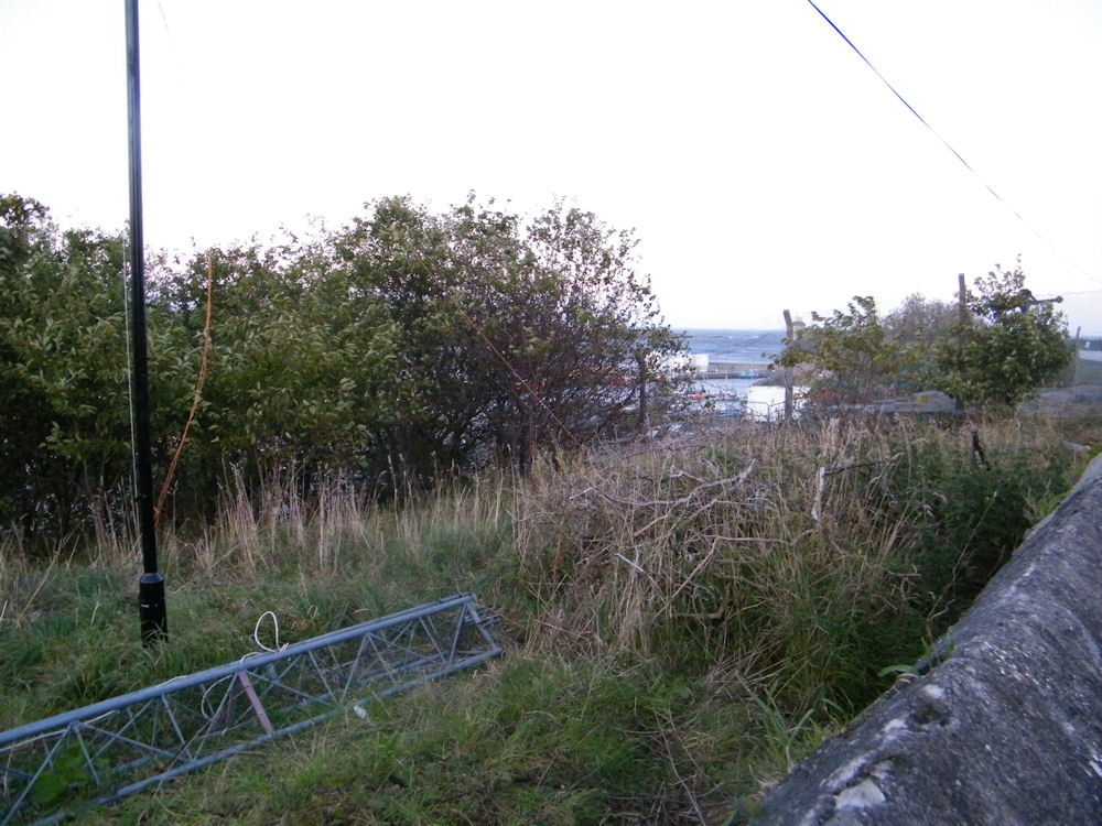 Photo: The Site Of The New Flagpole near to the Munitions Find