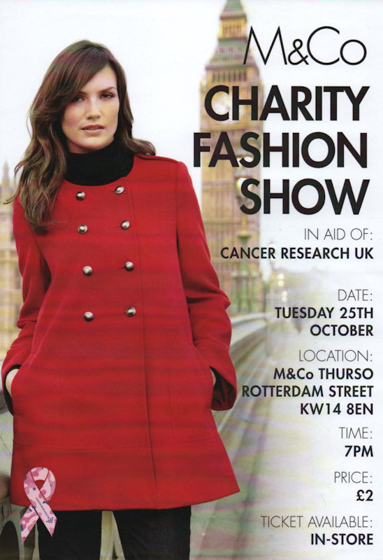 Photo: Fashion Show In Thurso In Aid Of Cancer Research