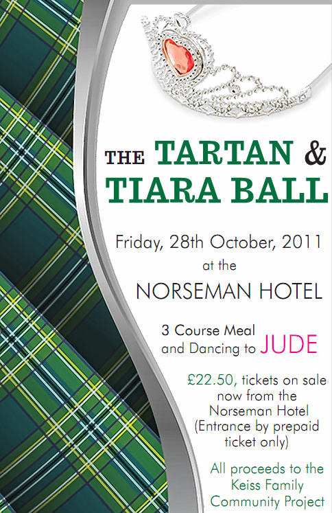 Photo: Tartan & Tiara Ball