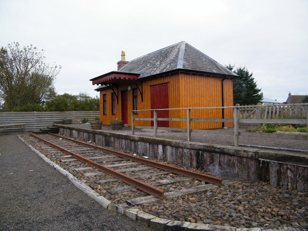 Photo: Thrumster Station Restored To Its Original State
