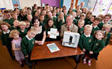 Keiss Primary School winners of the Logo Competition for the Caithness and North Sutherland Fund