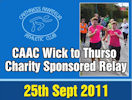 Caithness amateur Athletic Club - Wick to Thurso Sponsored Relay