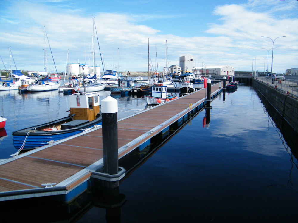 Photo: Wick Harbour - Modern Marina Facilities