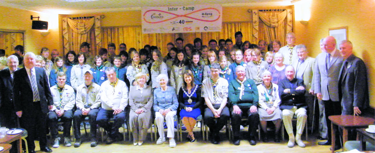 Photo: Brilon And Thurso Scouts At Council Reception
