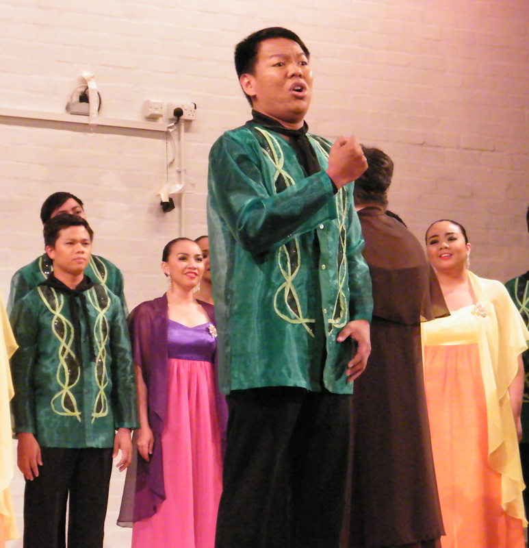 Photo: The University Of The Philippines Concert Chorus At Thurso