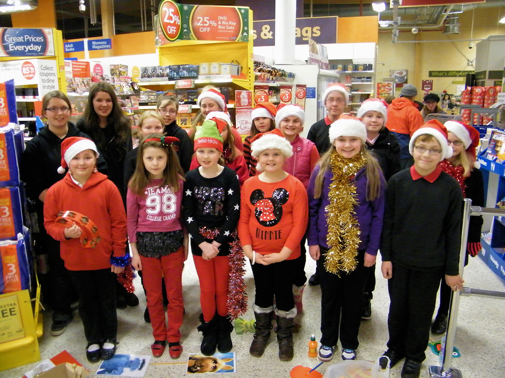 Caithness And North Sutherland Children's Choir Sing Christmas ...