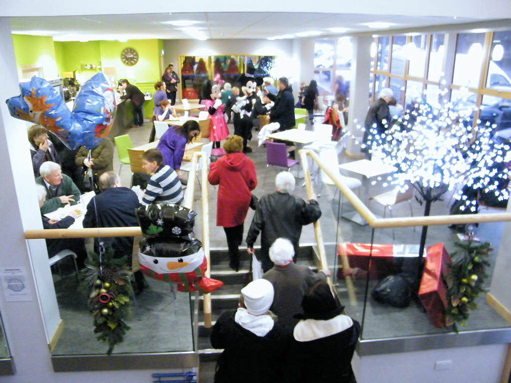 Photo: Crafts On Show For Christmas At Wick Library and Pulteney Centre