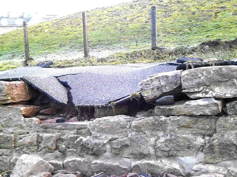 Photo: Storm Damage At Nairn