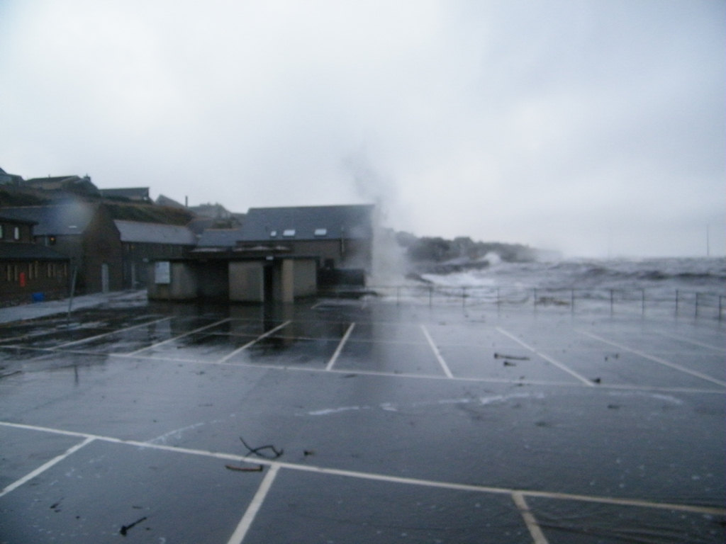 Photo: Wind and Tide Battered Wick Bay