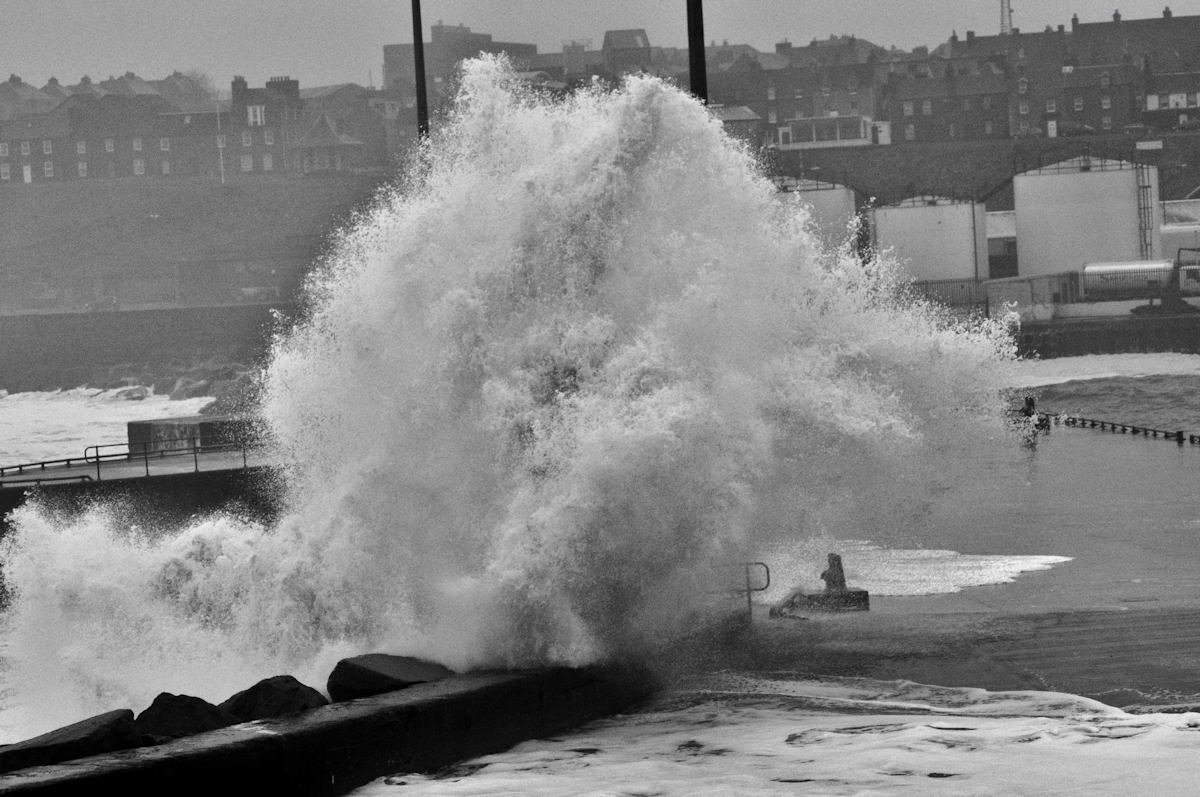 Photo: Stormy Weather Shows The Dangers Of The North Sea Recently