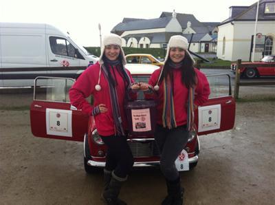 Photo: Caithness Sisters Complete Lejog Landsend to John O'Groats
