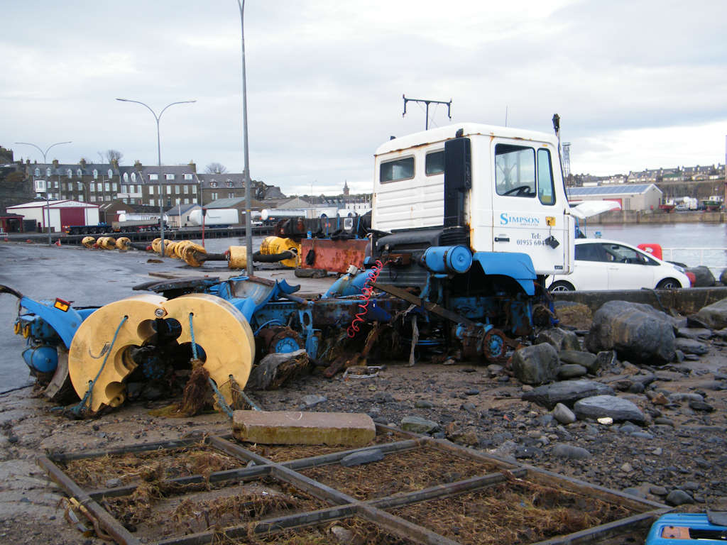 Photo: Calm and cleanup After Big Storm At Wick