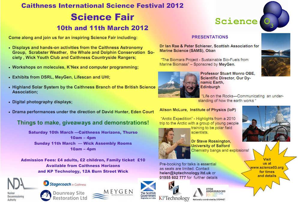 Photo: Caithness Science Fair 2012