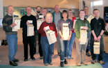 Caithness Volunteers Build Bird boxes