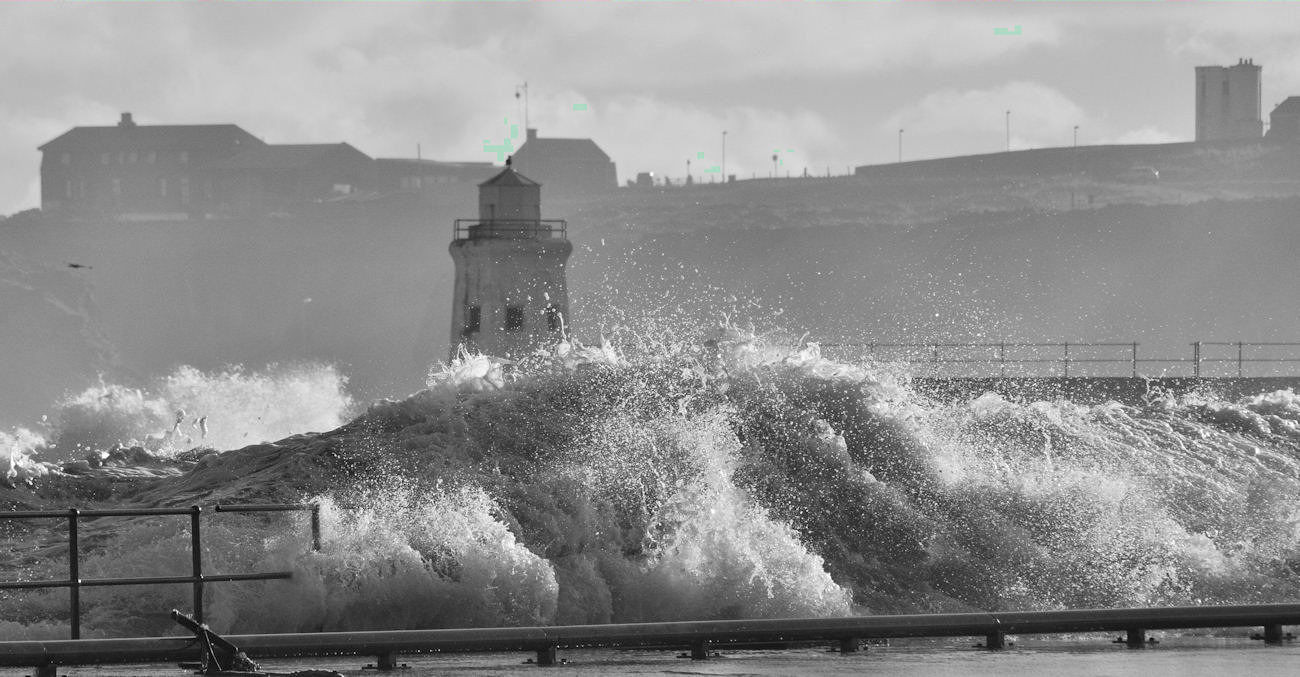 Photo: Stormy Looking At Wick Bay