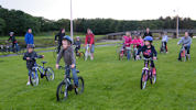 Cycle Races At Riverside Wick