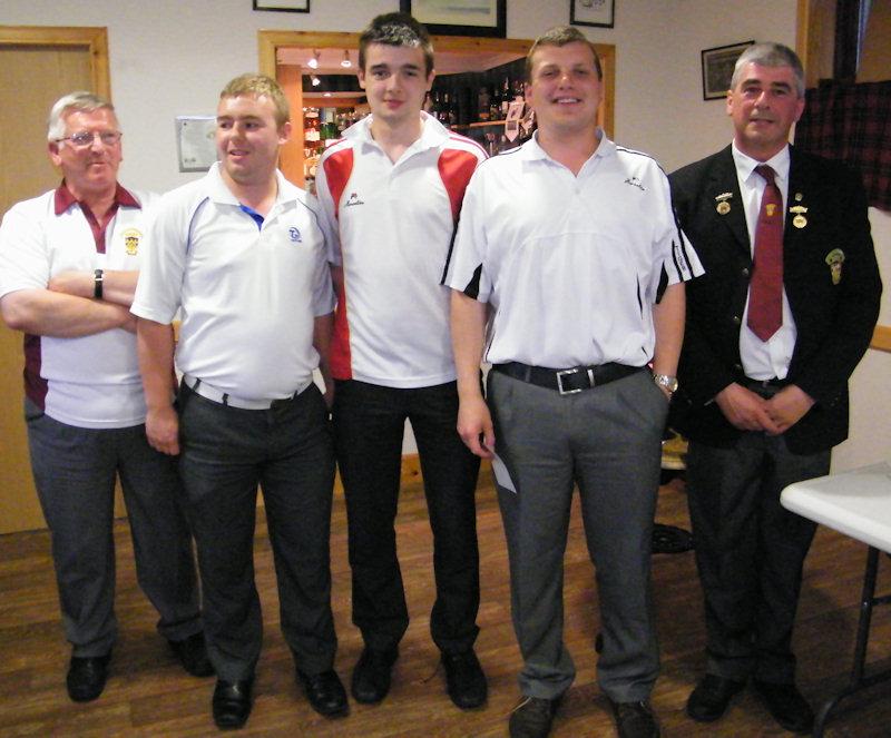 Photo: Triples Trophy Winners 2012
