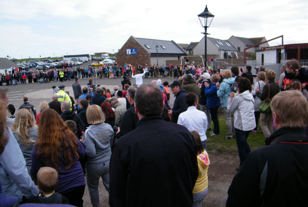 Photo: Olympic Torch Celebrations at John O'Groats