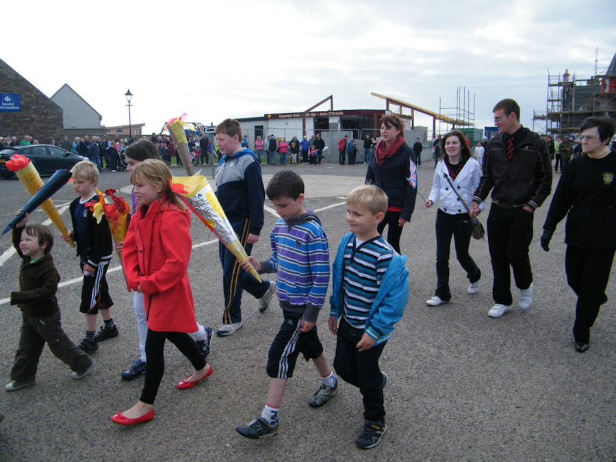 Photo: Olympic Torch Celebrations at John O'Groats