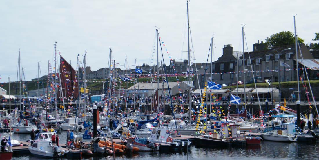 Photo: Wick Diamond Jubliee Harbourfest 2012