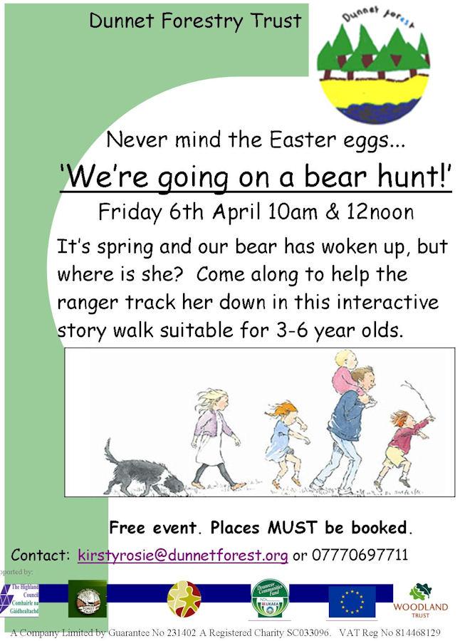 Photo: Bear Hunt For Easter