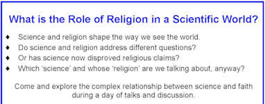 What is the role of religion in a scientific world