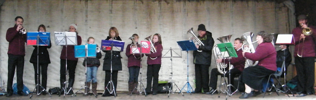 Photo: Pentland Brass In Christmas Swing