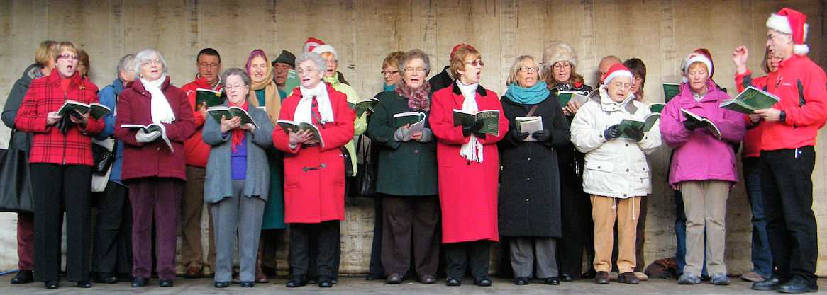 Photo: Wick Choral Sings Carols