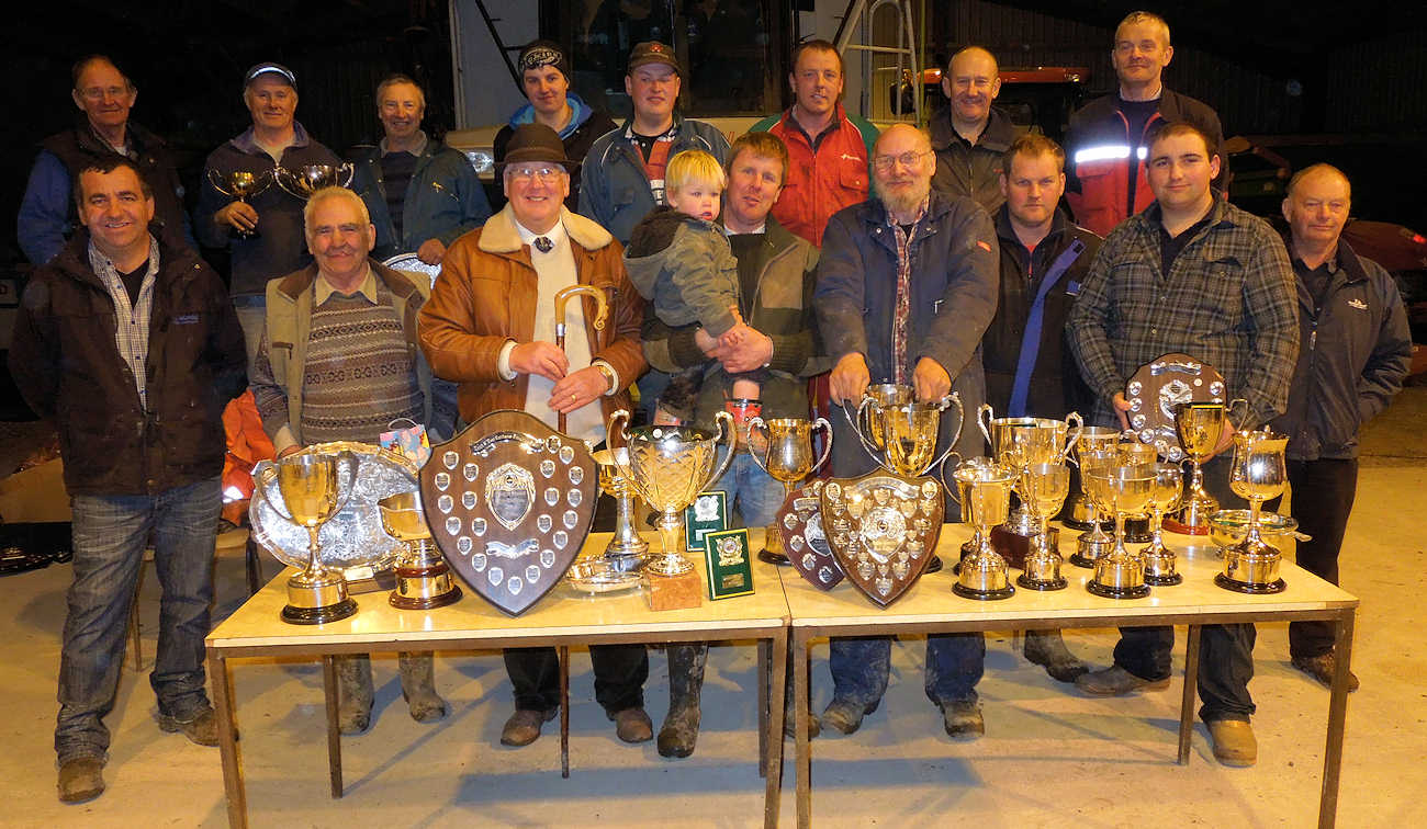 Photo: Trophy Winners at the 23rd Annual Ploughing Match