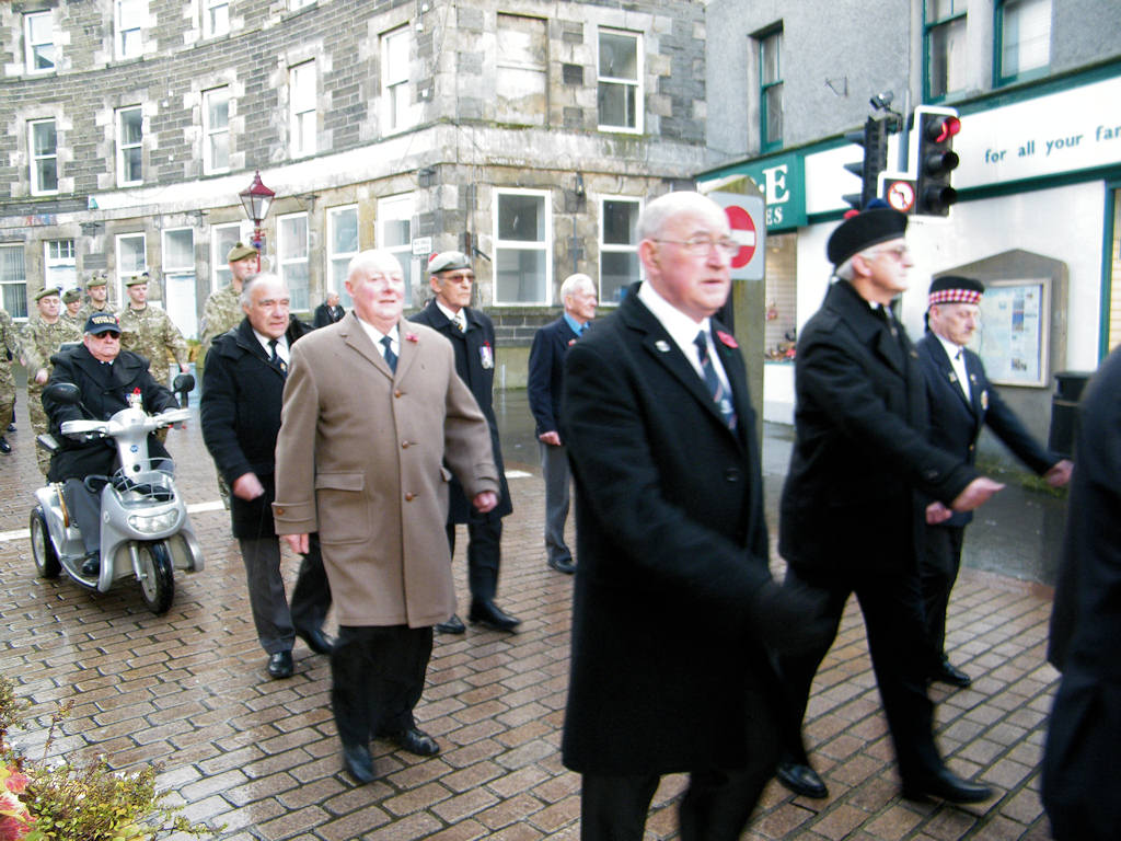 Photo: Remembrance At Wick 11 November 2012