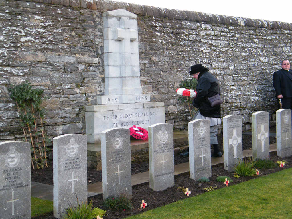 Photo: Remembrance At Wick Cemetery 11 November 2012