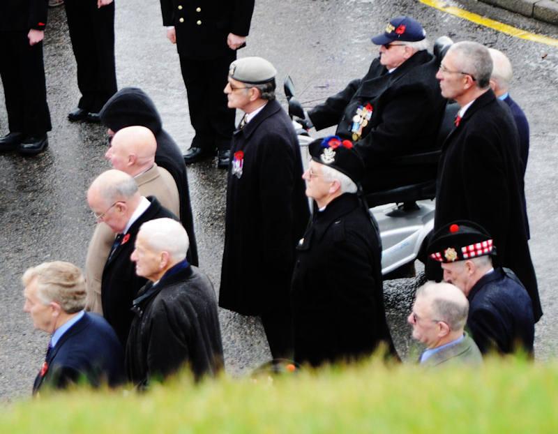 Photo: Remembrance At Wick 11 November 2012