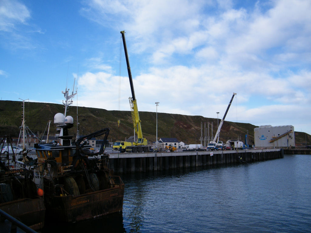 Photo: Scrabster Harbour Is Modernising