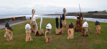 Sculptures at Wave North