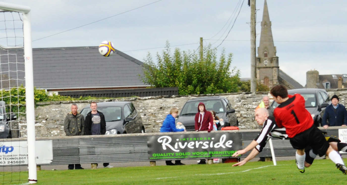 Photo: Wick Academy 4 Fraserburgh 1