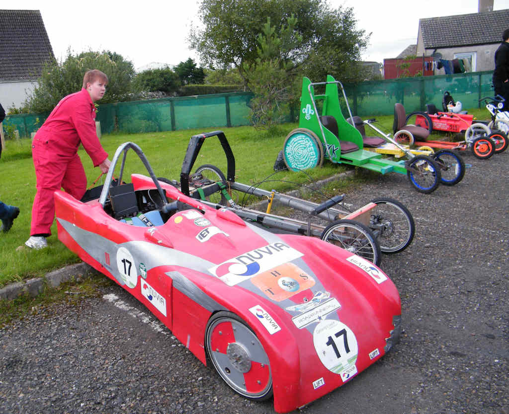 Photo: Karts Boost For Budding Engineers In Thurso