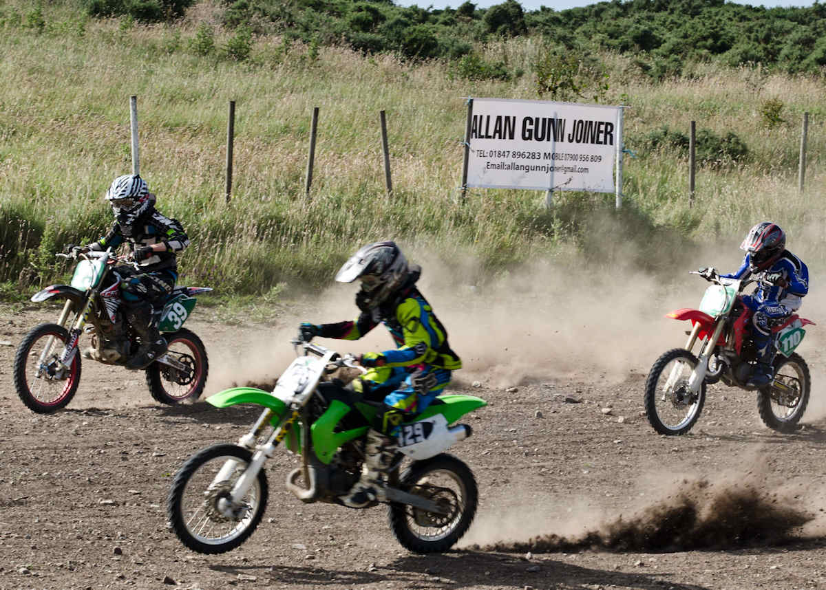 Photo: Caithness Moto Cross -85cc Class