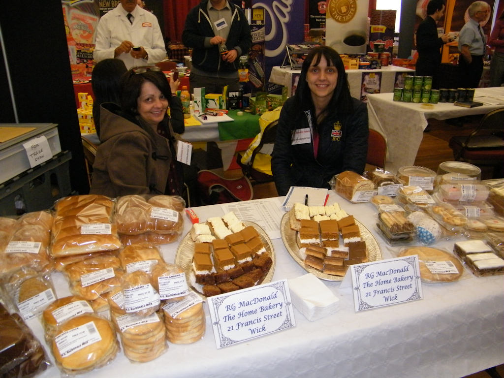Photo: Sutherland Brothers Trade Show 2013 - Macdonald's Bakery
