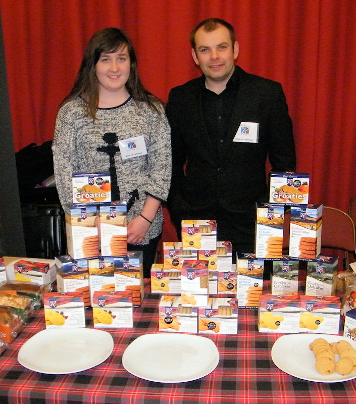 Photo: Sutherland Brothers Trade Show 2013 - Reids The Bakers